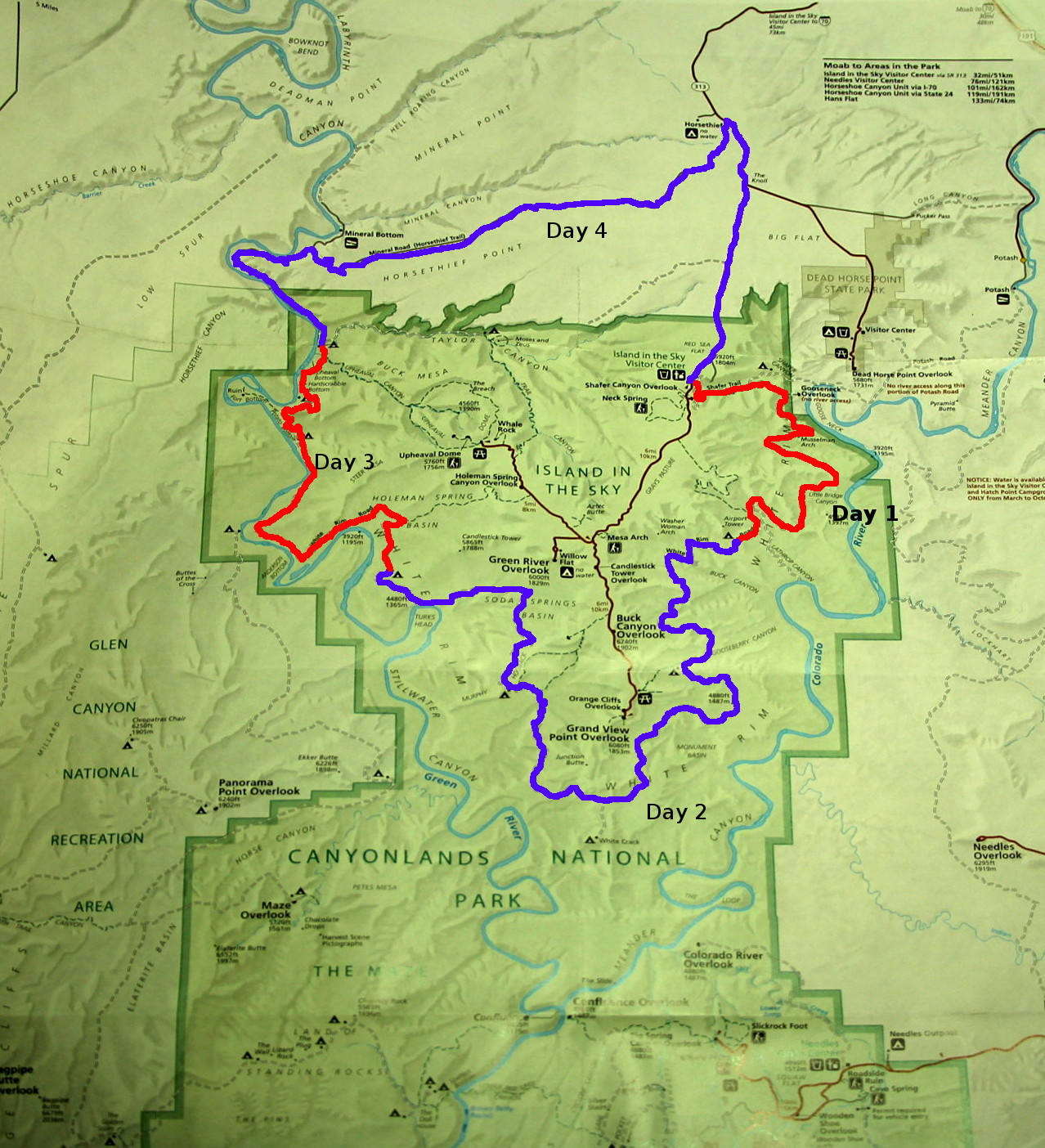 Mountain Biking the White Rim in Canyonlands National Park Voyages